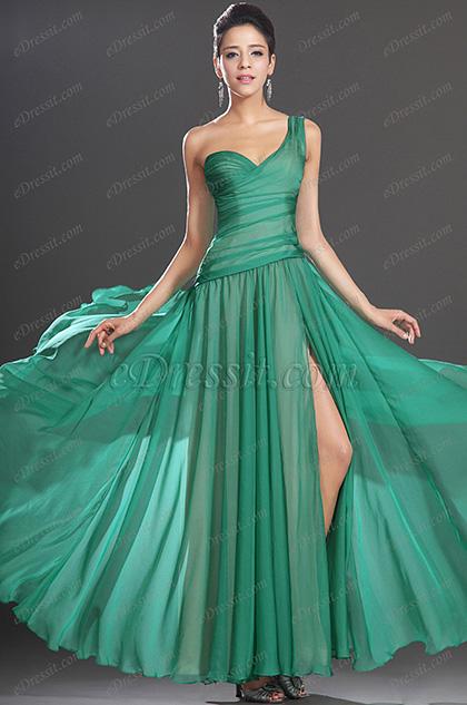 eDressit Maravilloso Solo Hombro Vestido de Fiesta Largo (00129804)