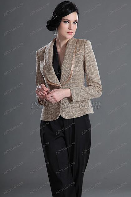 eDressit Lady Jacket With Sleeves Day Coat (03122714)