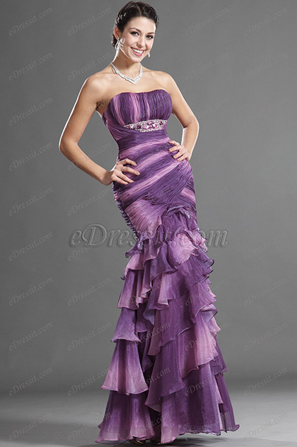 eDressit Elegant Strapless Evening Dress (36120806)