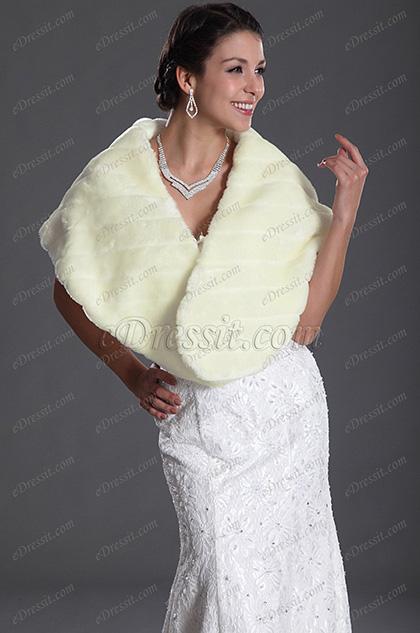 eDressit Reyon Hochzeit Schal (14120113)