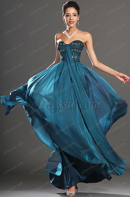 eDressit New Gorgeous Strapless Sweetheart Evening Dress (00134205)