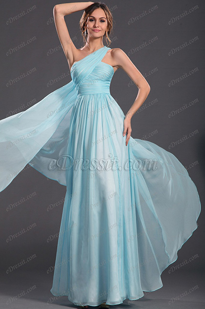 eDressit  Ein Schulter Wunderbar Abendkleid (00134832)