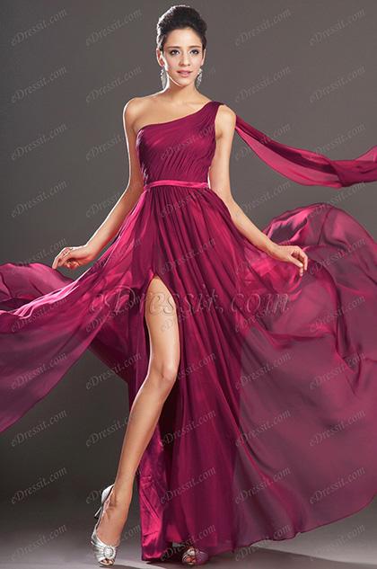 eDressit  Новое потрясающее  вечернее платье одна бретелька (00131717)