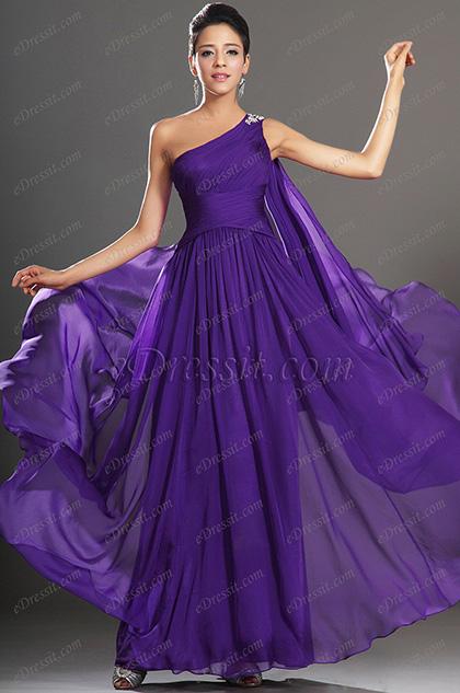 eDressit Nouveauté Fabulous Bretelle unique Robe de Soirée (00130906)
