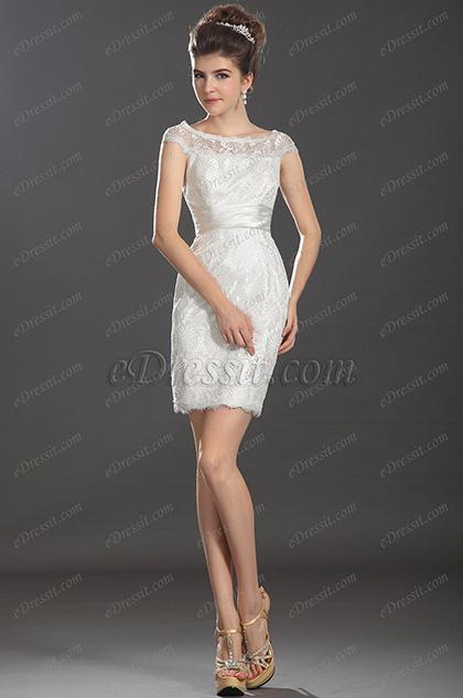 eDressit  новое фантастическое платье с колпачковыми рукавами для коктейля (03130307)
