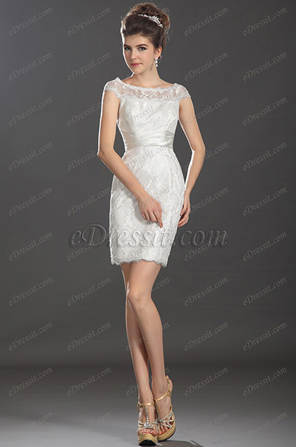 eDressit New Fabulous Cap Sleeves Cocktail Dress (03130307)