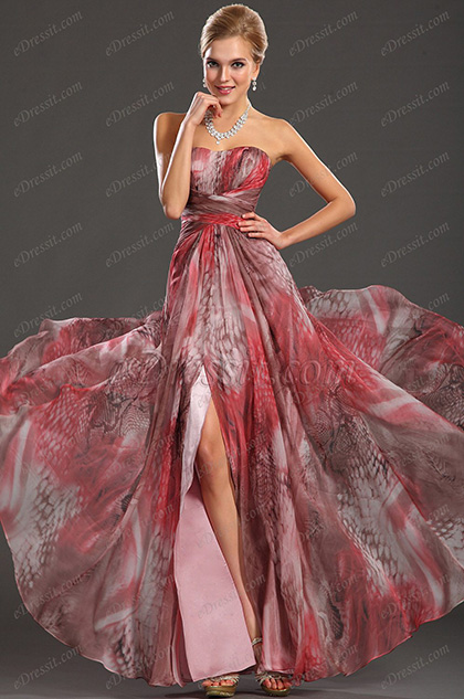 eDressit 2013 Neu Gorgeous Printed Fabric Abendkleid (00134568)