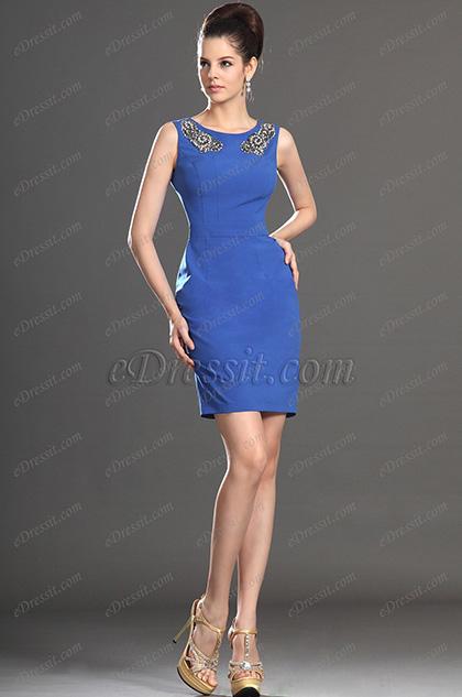 eDressit Новое стильное коктейльное платье платье на день без рукавов (03131205)