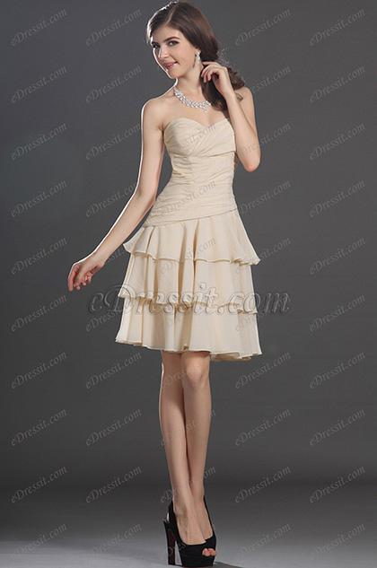 eDressit  Cariñoso Escote Sin Tirante Vestido de Coctel Vestido de Velada (04132414)