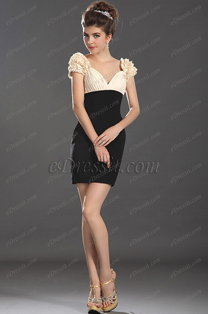 eDressit  новое  очаровательное платье на день с колпачковыми рукавами (03130114)
