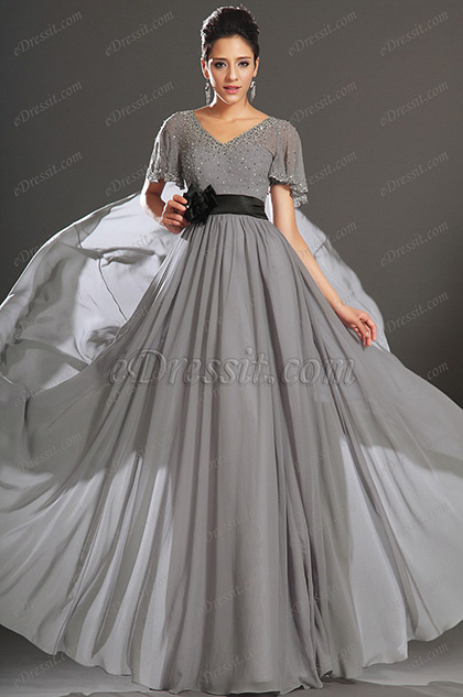 eDressit New Adorable Short Sleeves Mother of the Bride Dress (26130808)