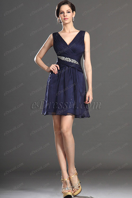 eDressit New Sexy V-neck Cocktail Dress Party Dress (04133105)