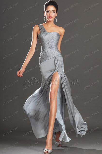 eDressit  новое сексуальное вечернее платье одна бретелька (00133708)