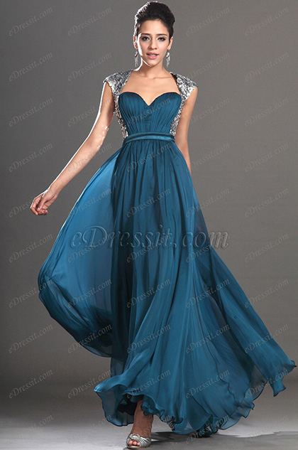 eDressit New Fashionable Sleeveless Sequins Evening Dress (02130705)