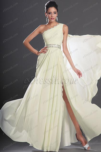 eDressit New Gorgeous One Shoulder Evening Dress (00132307)