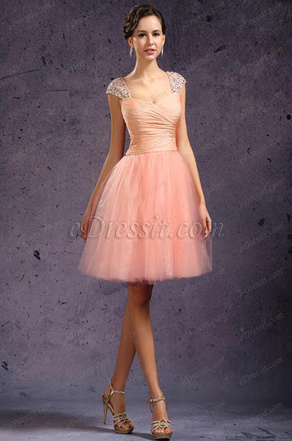 eDressit New Beaded Shoulder Straps Cocktail Dress Party Dress (04133601)