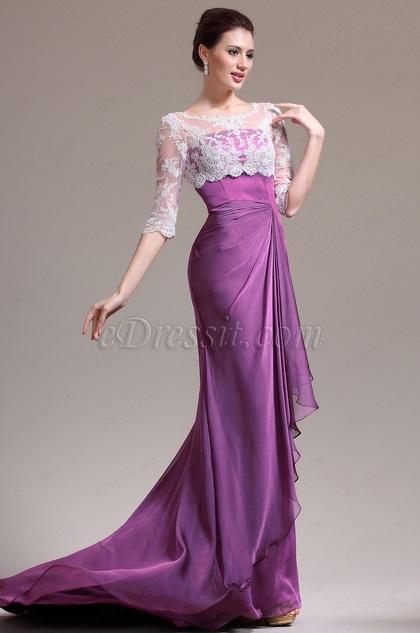 eDressit Maravilloso Escote Redondez Vestido de  Madre de la Novia (26134512)