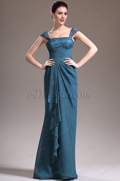eDressit New Adorable Cap Sleeves Evening Dress Prom Gown (00136405)