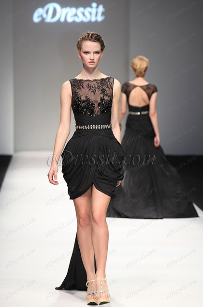 eDressit 2013 S/S Fashion Show Black Cocktail Dress Party Dress (F04130600)