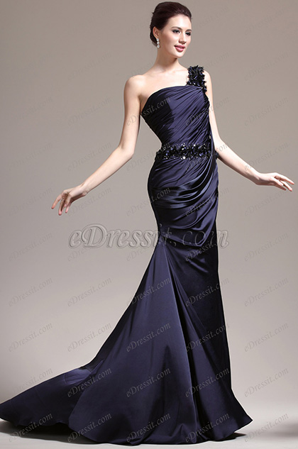 eDressit New Gorgeous One Shoulder Delicated Flowers and Beads Evening Dress (02133005)