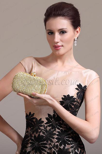 Shiny Golden Handbag/ Purse (08131124)