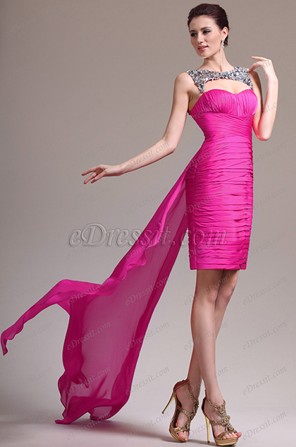 eDressit New Lovely Strapless Sequins Sweetheart Cocktail Dress Party Dress (04136012)