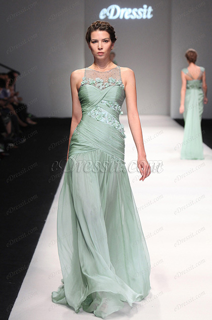 eDressit 2013 P/V Fashion Show Fantastico Vestido de Noche Largo (F00131504)