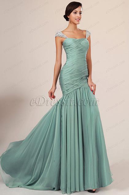 eDressit новое превлекательное подходящее зелёное вечернее платье(00131004)