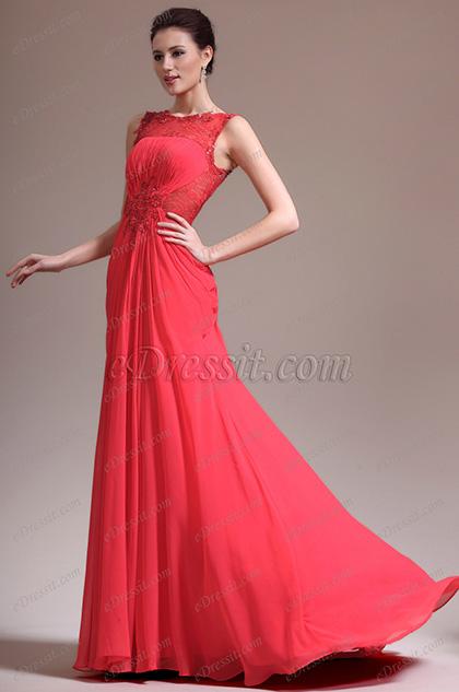 eDressit новое соблазнительное элегантное вечернее платье с прозрачными кружевами (02132502)