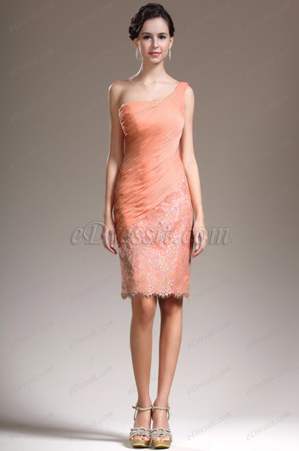 eDressit New Stunning One Shoulder Cocktail Dress Party Dress (04134010)
