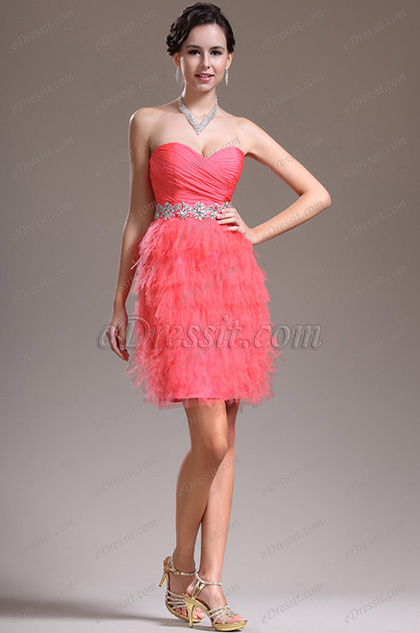eDressit New Stunning Strapless Cocktail Dress Party Dress (04135457)