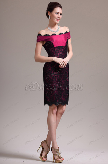 eDressit New Charming Off Shoulder Lace Cocktail Dress Party Dress (04136402)