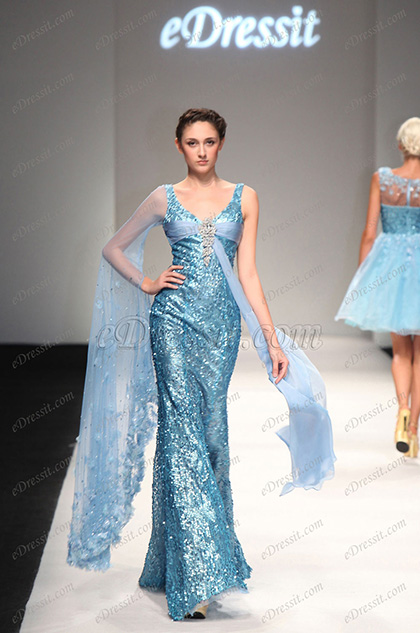 eDressit 2013 S/S Fashion Show Sexy Blue Evening Dress Prom Gown (F00133432)