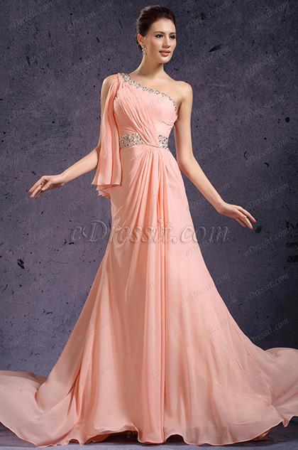 eDressit  Ein Schulter Süß Abendkleid (00136101)