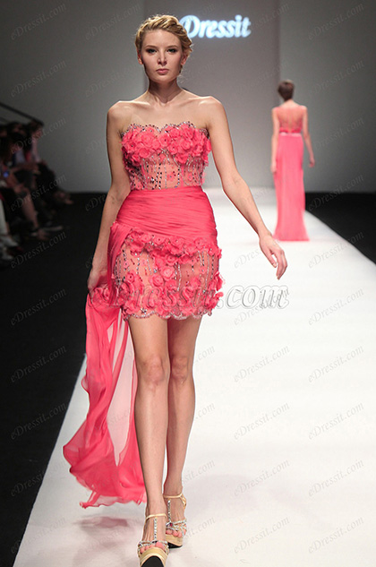 eDressit 2013 S/S Fashion Show Strapless Cocktail Dress Party Dress (F04131257)