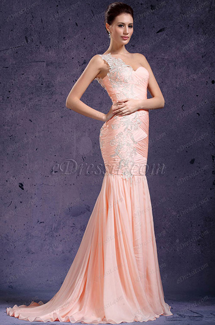 eDressit New One Shoulder Fabulous Evening Dress (02132001)