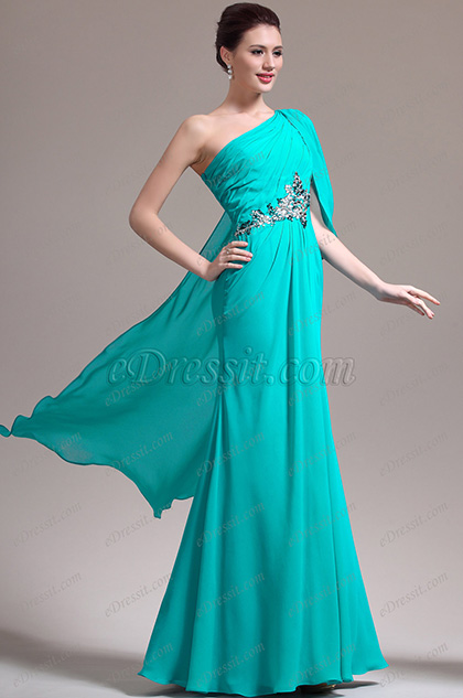 eDressit New Great Amazing Beads One Shoulder Evening Dress (02133211)