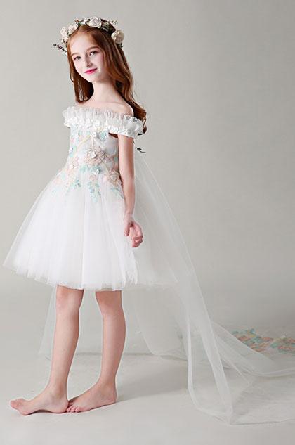 eDressit Off Shoulder Children Wedding Flower Girl Dress (28199007)