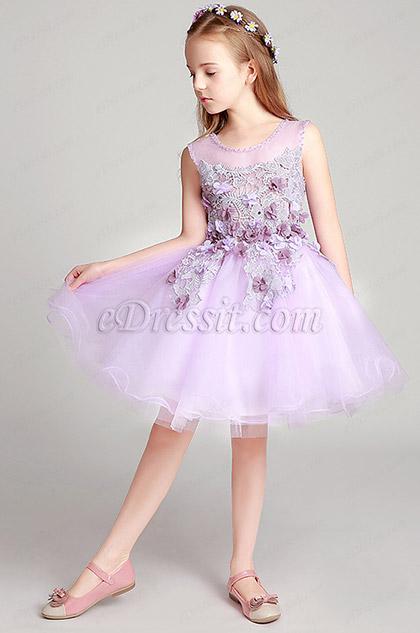 eDressit Round Neck Wedding Flower Girl Party Dress (28197206)