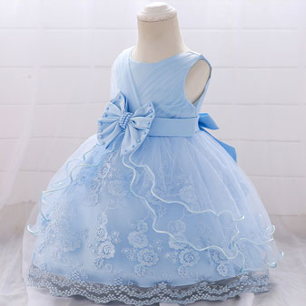 eDressit Cute Round Neck Lace BowtieTulle Baby Dress (2319017)