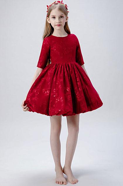 eDressit Red Children Wedding Flower Girl Dress (28204702)