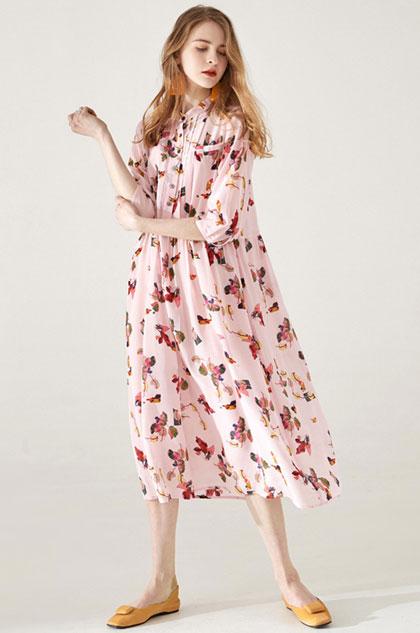 eDressit Chic Silk High Quality Printed Dress Summer Dress (30193501)