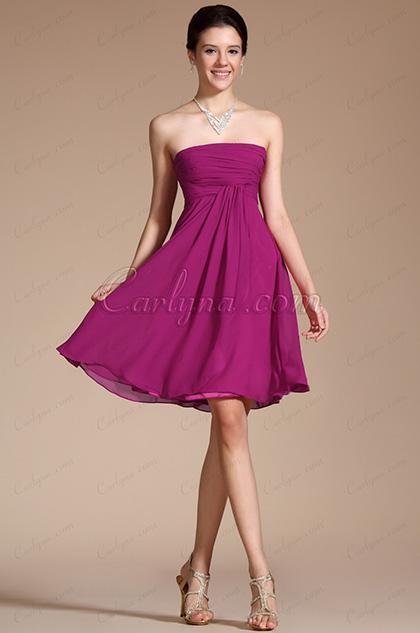 2014 vestido de cóctel/fiesta Recién llegados sin tirantes hermoso (C04112412)