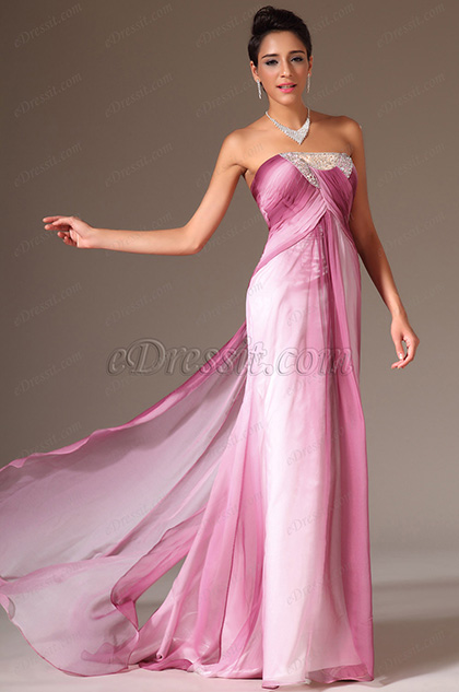 eDressit Stunning Strapless Beadings Prom Evening Dress(00142556)