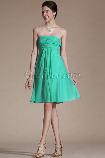Arrivals Lovely Strapless Cocktail Dress Bridesmaid Dress (C04112411)
