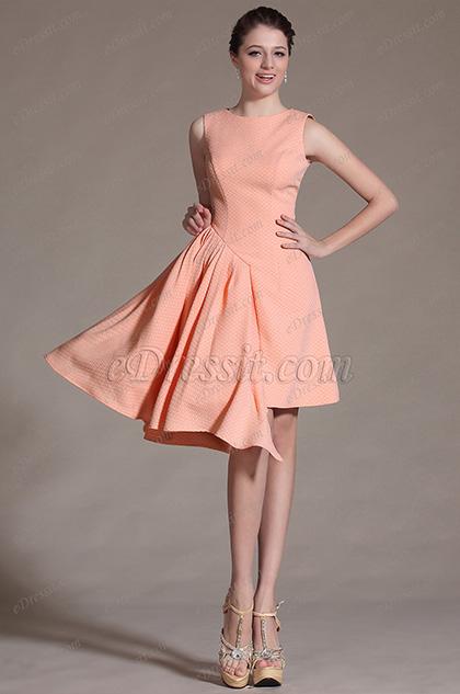 eDressit 2014 Neu Elegant Ärmellos Stil Cocktail Kleid Tag Kleid (03141901)