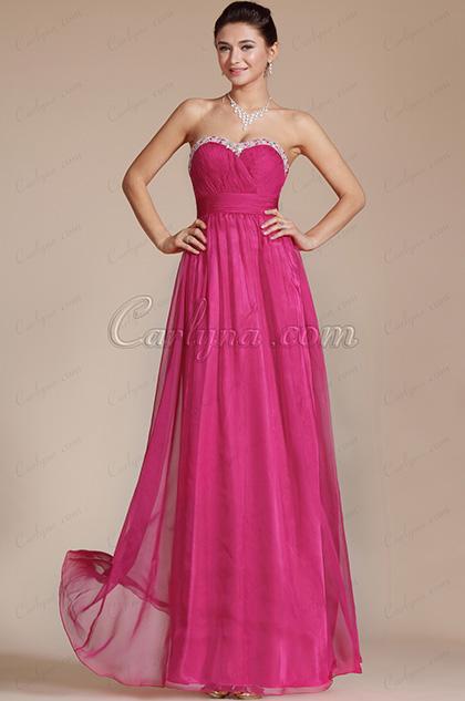 Charming Hot Pink Sweetheart Evening Dress/Bridesmaid Dress (C36141812)