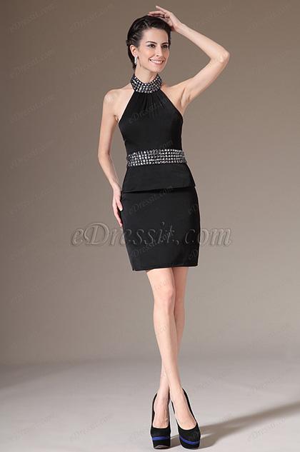 eDressit 2014 Новое Привлекательное Маленькое Чёрное Платье(03140700)
