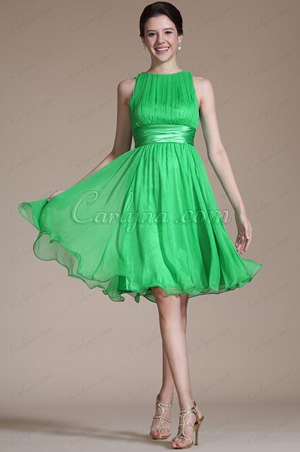 2014 Neues Ärmelos Kurze Cocktail Kleid(C04111704)