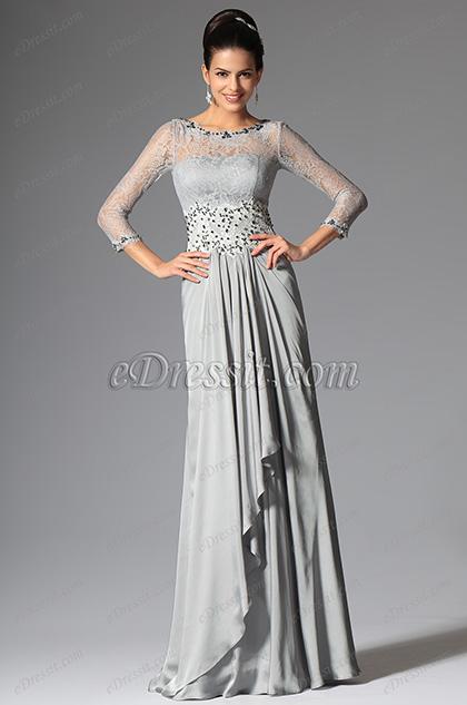 robe m re de mari e drap e avec dentelle et perles raffin es 26148608. Black Bedroom Furniture Sets. Home Design Ideas